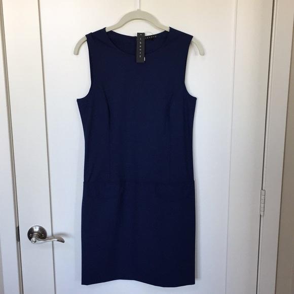 875620bc9c Theory Dresses | Shift Dress Navy With Pockets Size 4 | Poshmark